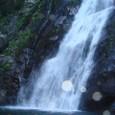 大川の滝壺